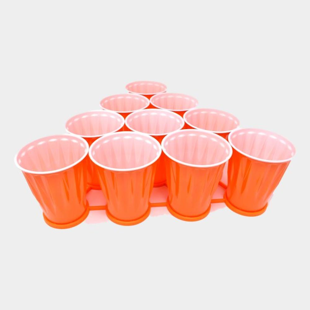 Beer Pong Rack and Cover and Cup Set 01