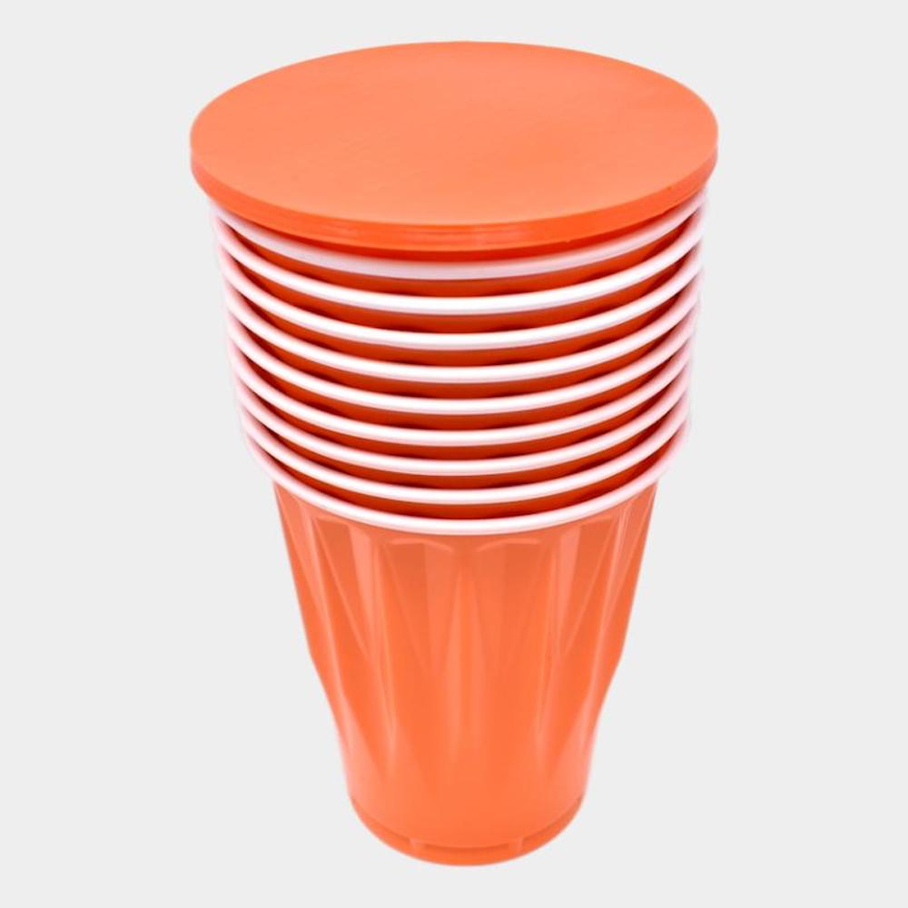 Beer Pong Rack and Cover and Cup Set 06