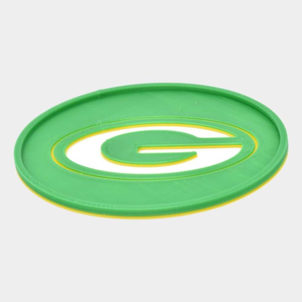 Coaster Green Bay Packers Tri Color